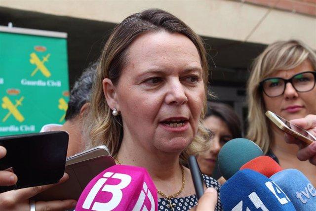 Maria Salom, declaraciones a la prensa