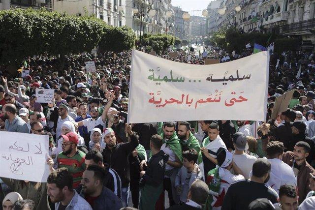 Protests against Abdelaziz Bouteflika in Algeria