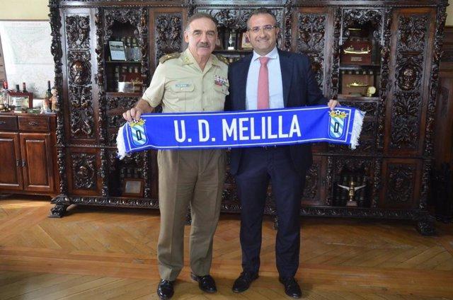 28A.- El Ex Comandante General De Melilla Será Cabeza De Lista Del PP En La Ciud