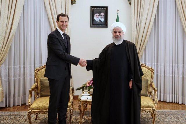 Syrian President Bashar al-Assad in Iran