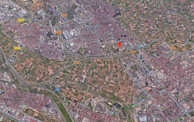Valencia.- Sucesos.- Fallece una persona en un accidente de tráfico en la CV-30