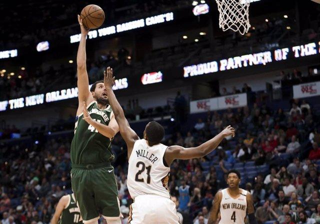Baloncesto/NBA.- Mirotic reina en su vuelta a Nueva Orleans y los Nuggets arroll