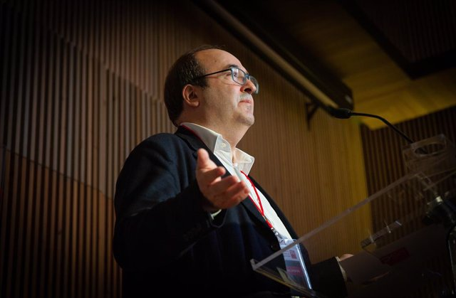 Acte de tancament de la convenció del PSC de Barcelona