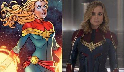 Capitana Marvel: 10 diferencias entre los cómics y la película de Marvel Studios