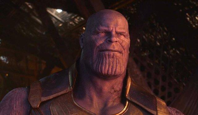 SABADO Primera imagen oficial de Thanos en Vengadores: Endgame
