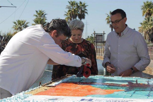 Huelva.- Caraballo llama a la ciudadanía a asistir al Muelle de las Carabelas en
