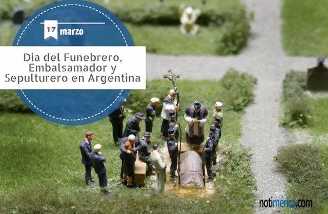 17 De Marzo: Día Del Funebrero, Embalsamador Y Sepulturero En Argentina, ¿Qué Se