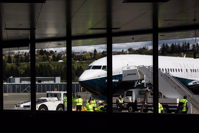 EEUU.- Boeing actualizará el software de todos sus aviones 737 MAX en un plazo m