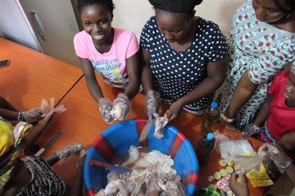 Augusta, la voz y el rostro de las niñas de la calle en Sierra Leona