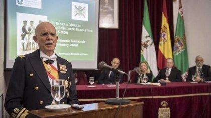 El general de Infantería de Marina Agustín Rosety Fernández de Castro, cabeza de lista de Vox al Congreso por Cádiz