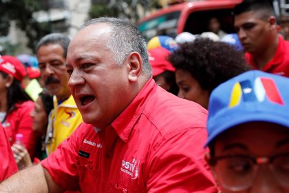 """Diosdado Cabello insta a los venezolanos a mantenerse alerta ante """"nuevos ataques"""" tras el apagón"""