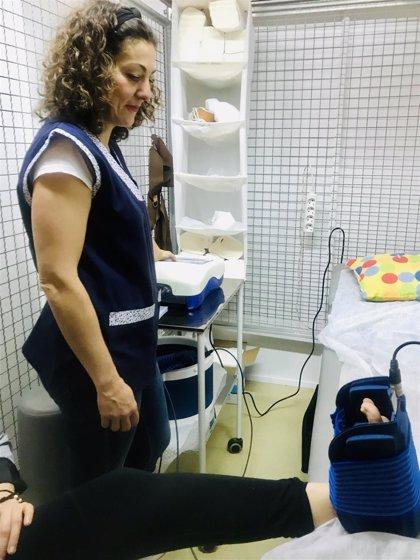 Fisioterapia, uno de los servicios municipales más demandados en Alcalá de Guadaíra (Sevilla)