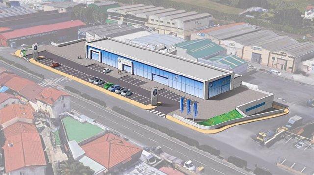 Santander.- Concedida licencia de obras para un nuevo concesionario de en El Cam