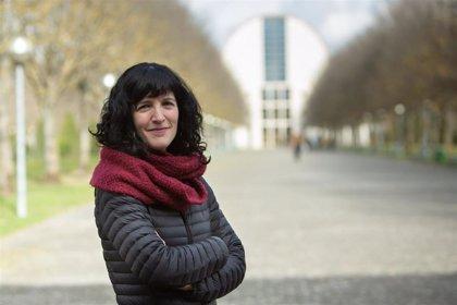 La investigadora de la UPNA Maite Martínez Aldaya, fundadora de la recién creada Academia Joven de España