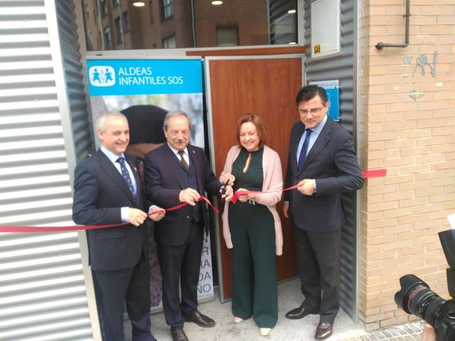 Inauguración Centro de Día Aldeas Infantiles SOS Oviedo