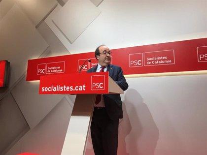 """Iceta califica de """"magníficas"""" las candidaturas del PSOE y dice que en el PSC """"no ha habido ningún problema"""""""