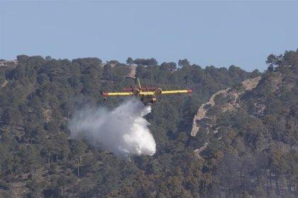 La Junta agradece a todo el dispositivo su trabajo para la extinción del incendio de Paterna del Madera