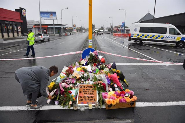 Aftermath of Christchurch mosque attacks in New Zealand