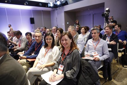 Armengol anuncia que tres socialistas de Baleares se encuentran en las listas del PSOE a las europeas