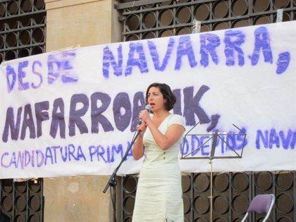 """Laura Pérez llama a una """"candidatura de unidad popular"""" con EH Bildu, Podemos e IE"""
