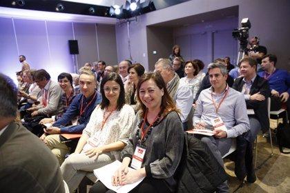 26M.- Armengol anuncia que tres socialistes de Balears formen part de les llistes del PSOE a les europees