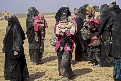 Más de 60.000 personas han huido del último enclave del Estado Islámico en Siria en los dos últimos meses