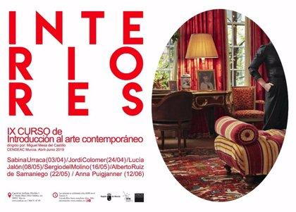 El Cendeac indaga en los 'Interiores' físicos y conceptuales con el Curso de Introducción de Arte Contemporáneo
