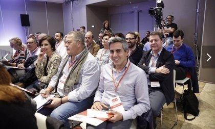 Zuloaga llama a la movilización y a la unidad del partido en el Comité Federal del PSOE