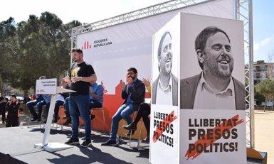 """Rufián (ERC) qualifica de """"demostració de força"""" la manifestació independentista a Madrid (@ESQUERRA_ERC)"""