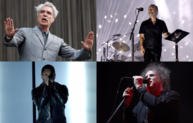 David Byrne y Trent Reznor introducirán a Radiohead y The Cure en el Rock and Ro