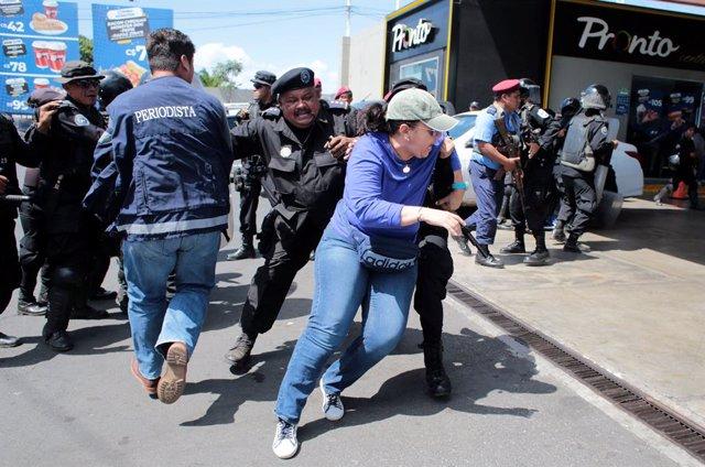 Nicaragua.- Al menos 164 detenidos durante las nuevas protestas en Nicaragua en