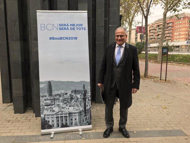El candidato del PP a la Alcaldía de Barcelona, Josep Bou