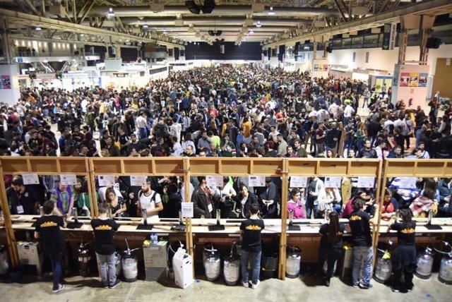 Unes 35.000 persones visiten la vuitena edició del Barcelona Beer Festival