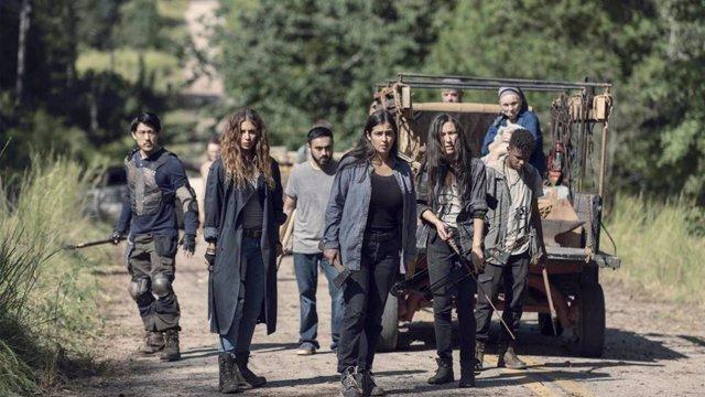 Una actriz de The Walking Dead adelanta la muerte de su personaje en la 9º tempo