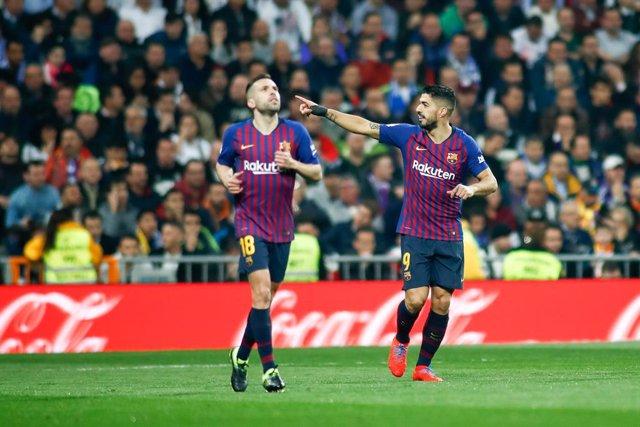 Soccer: Copa del Rey - Real Madrid v FC Barcelona