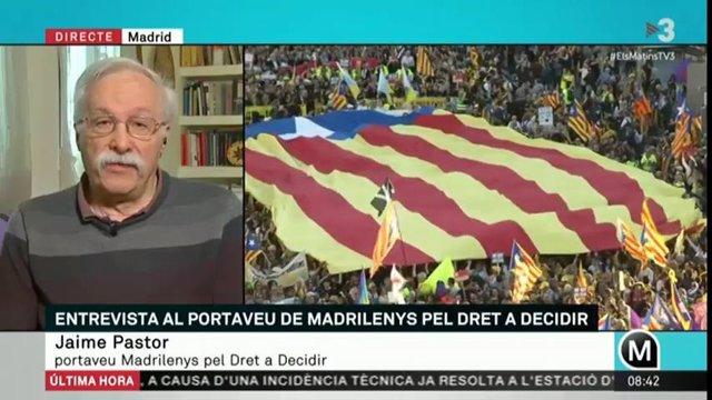 Madrilenys pel dret a decidir considera un xit la mobilització del sábad