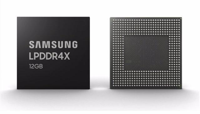 Samsung empieza la producción en masa de sus memorias RAM de 12 GB