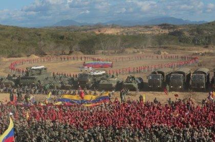 """'Ana Karina Rote': la operación militar de Maduro para """"limpiar Venezuela de ataques fascistas"""""""
