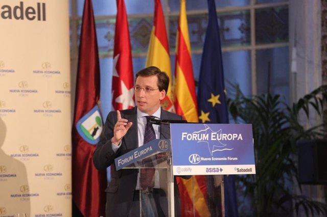 """Almeida dice que en Madrid """"no puede haber exclusiones, salvo aquellos que no qu"""