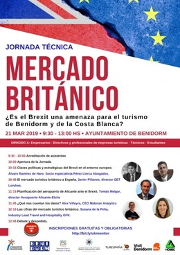 Turismo.- La Universidad de Alicante analiza el impacto del Brexit en Benidorm y
