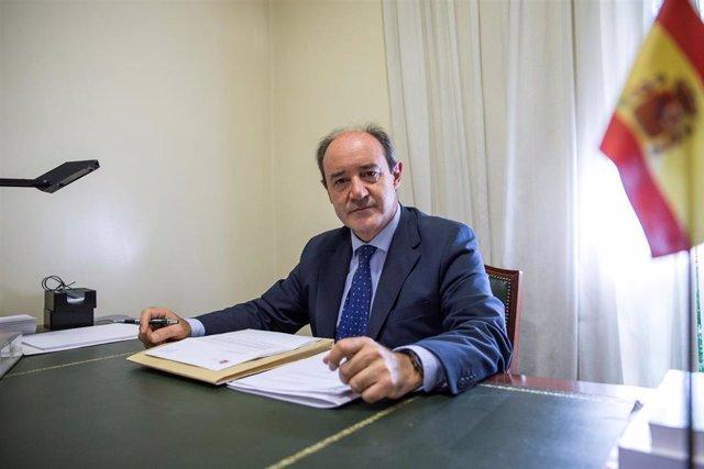 El nuevo presidente del TSJM, el gallego Celso Rodríguez, tomará posesión de su