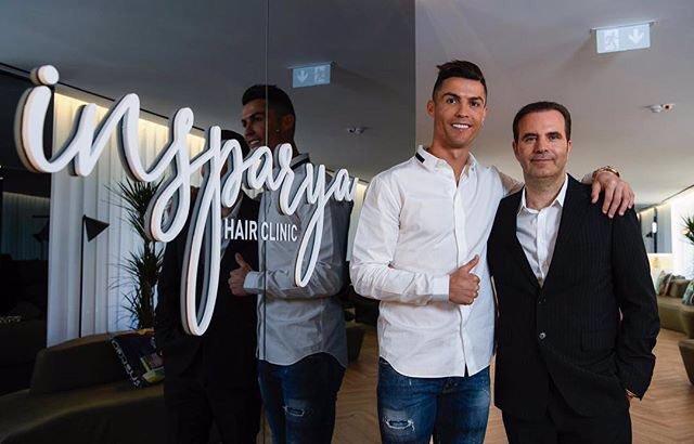 Los fundadores de Insparya, Cristiano Ronaldo y Paulo Ramos
