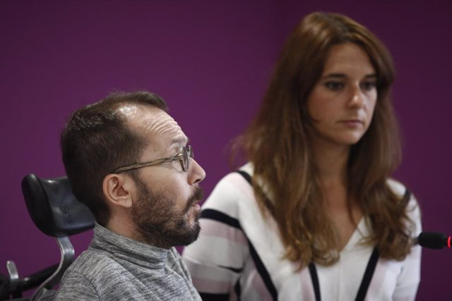 Roda de premsa de Podem després del Consell de Coordinació del partit