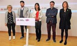 Joan Josep Nuet deixarà el seu escó al Parlament i el seu càrrec en la direcció dels comuns (EUROPA PRESS)