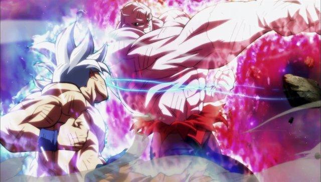 Goku contra Jiren en Dragon Ball Super