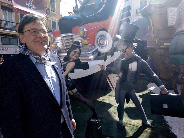 """Ximo Puig asegura que los valencianos aspiran """"a la convivencia"""" y están """"contra"""