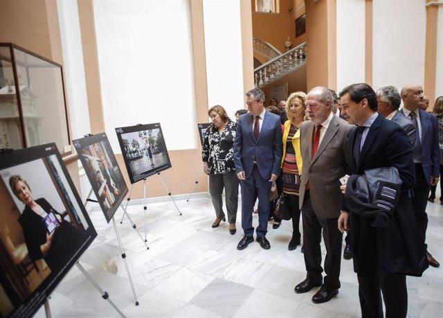FAMP.- La muestra fotográfica 'Alcaldesas andaluzas' refleja el papel de la muje