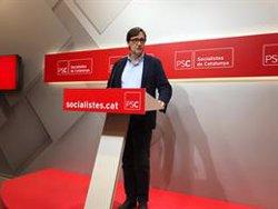 El PSC demana a Torra complir la resolució de la JEC i retirar el llaç de la Generalitat (EUROPA PRESS)