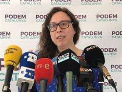 Podem defensa l'elecció d'Asens al capdavant d'En Comú Podem (EUROPA PRESS)