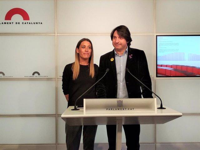 """28A.- Jxcat Afirma Que PSOE I PP Bloquegen A l'Estat Al """"No Escoltar A Catalunya"""
